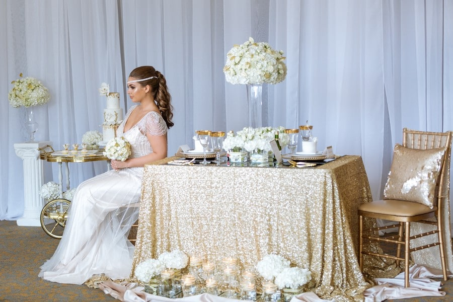 Gold Rush Styled Shoot with Glamour Inspiration! 32