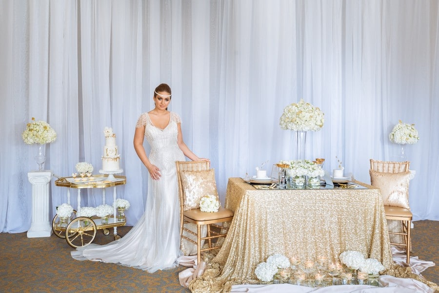Gold Rush Styled Shoot with Glamour Inspiration! 35