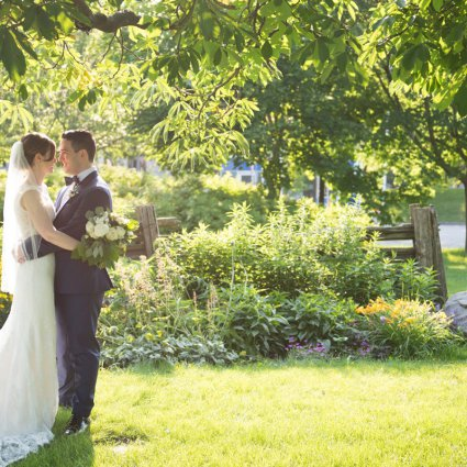wMac Photography featured in Liz & Rob's Liberty Grand Wedding in the Artifacts Room