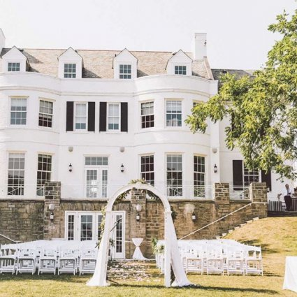 Harding Waterfront Estate featured in The GTA's Top Waterfront Venues For Weddings & Events