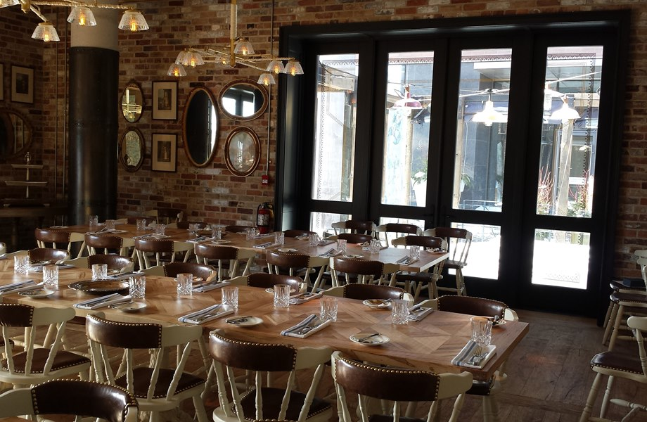 Located Right In The Heart Of Torontou0027s Historic Distillery District, Cluny  Bistro Offers A Private Dining Area And Function Space Perfect For A  Holiday ...