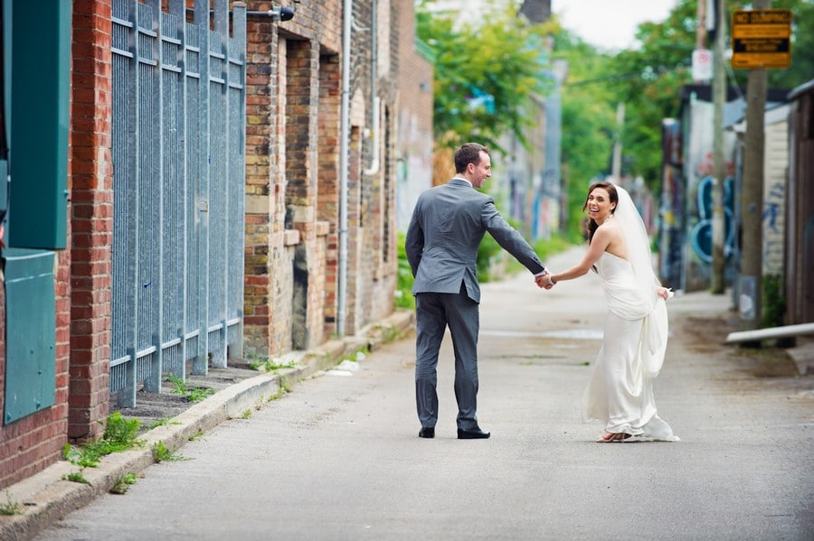 Hero image for Katie & James' Vibrant Wedding at the Canadian Forces College