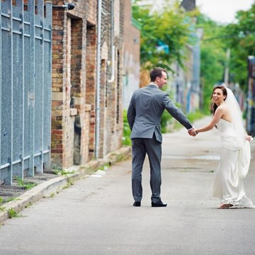 Katie & James' Vibrant Wedding at the Canadian Forces College