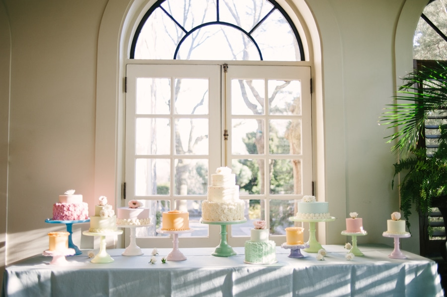 Pastel Themed Wedding