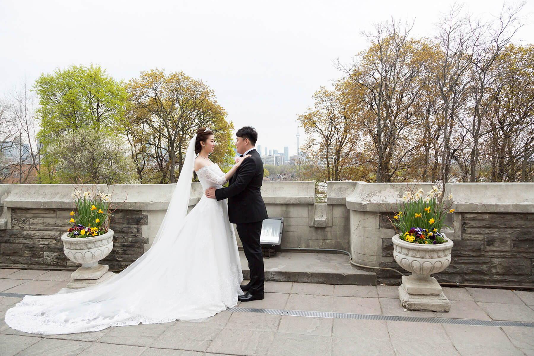Hero image for Kexin & Long's Romantic Wedding at Casa Loma and The Shangri-La Hotel