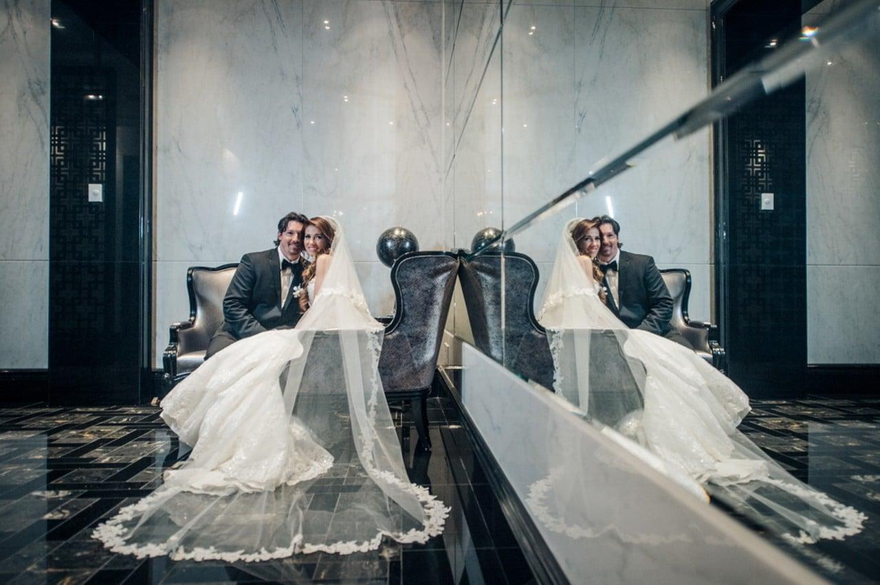 Hero image for Ashley and Brad's Elegant Wedding at Trump International Hotel & Tower
