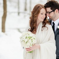 Ashley and Scott's Winter Wedding At Steam Whistle Brewery