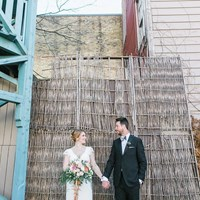 Sarah and Shane's Cozy Romantic Wedding at Berkeley Church & Fieldhouse