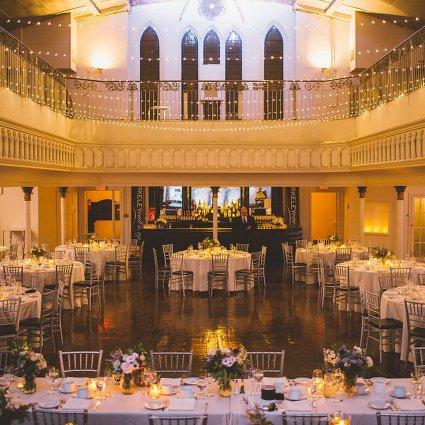 Nikki Mills featured in Nona and Jamie's Luxe Winter Wedding at Berkeley Church & Fie…
