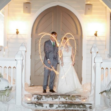 Laura and Jon's Christmas Inspired Wedding at The Doctor's House
