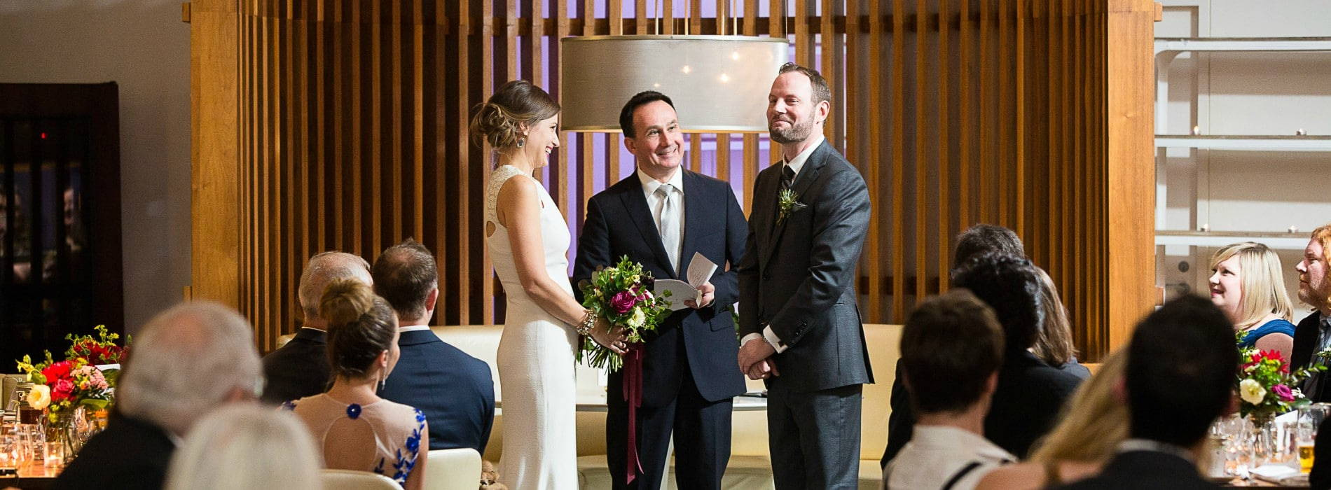 Hero image for Valerie and James' Intimate Wedding at Mildred's Temple Kitchen