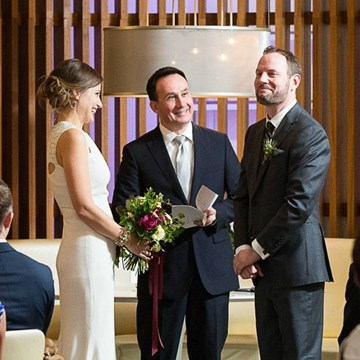 Valerie and James' Intimate Wedding at Mildred's Temple Kitchen