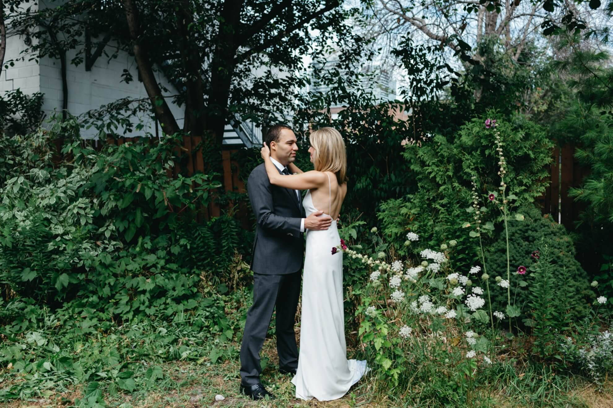 Hero image for Julia and Ben's Urban Wedding at 2nd Floor Events