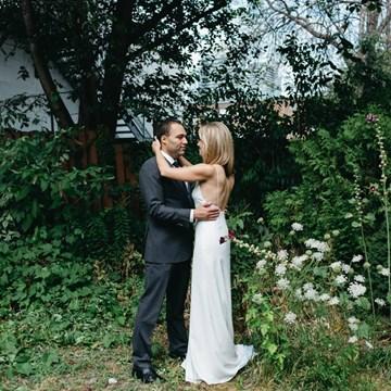 Julia and Ben's Urban Wedding at 2nd Floor Events