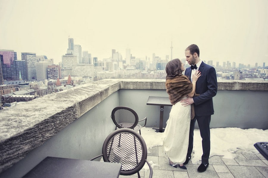 Hero image for Sarah and Rory's Romantic Wedding at The Burroughes Building