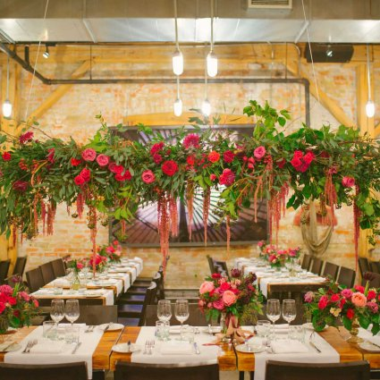 KJ & Co. featured in Niveen and Rob's Winter Garden Wedding at Archeo