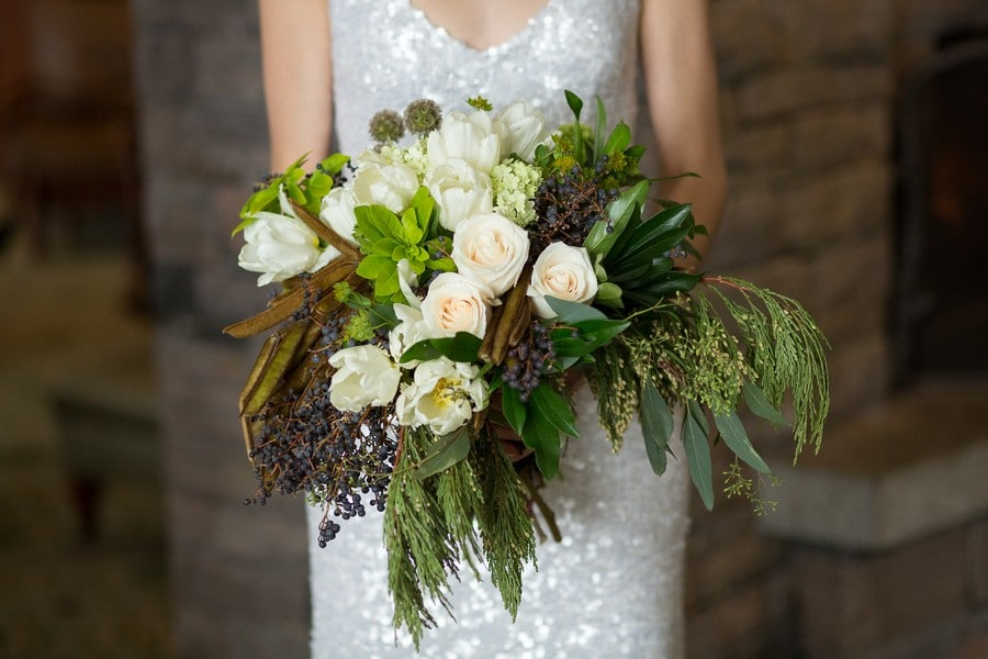 winter wedding floral trends from torontos top florists, 2