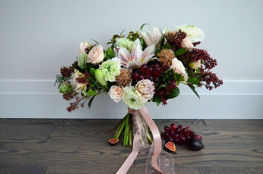 winter wedding floral trends from torontos top florists, 4
