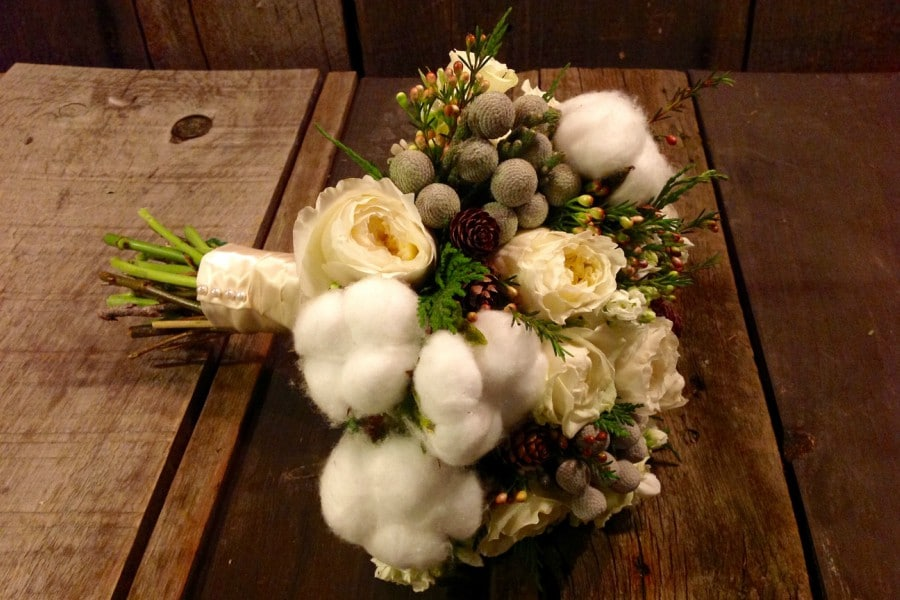 Sweetpea's featured in Winter Wedding Floral Trends from Toronto's Top Florists