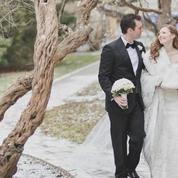 Lia and Jaime's Beautiful Winter Wedding at the Omni King Edward Hotel