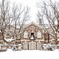 Hajar and Ryan's Winter Wedding at Graydon Hall Manor