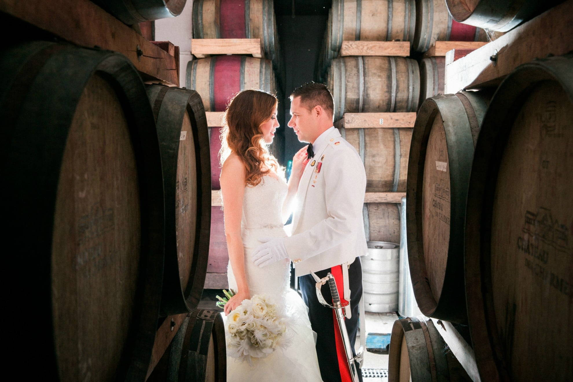 Hero image for Lisa and Shawn's 1920s Wedding at Château des Charmes