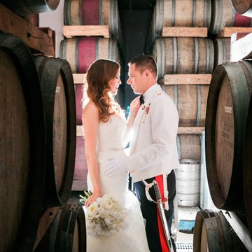 Lisa and Shawn's 1920s Wedding at Château des Charmes
