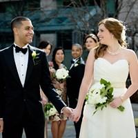 Ashley and Daniel's Urban Wedding at Storys Building