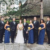 Michelle and Michael's Romantic Wedding at The Old Mill