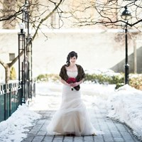A Glamorous and Romantic Winter Wedding Styled Shoot