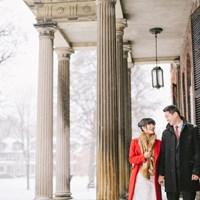 Karen and Frank's Urban Winter Wedding at Hotel Ocho