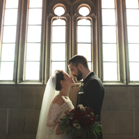 Melanie and Martyn's Enchanting Winter Wedding at Knox College and Casa Loma
