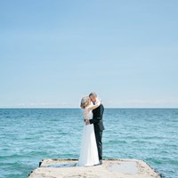 Heather and Steve's Intimate Wedding at Le Papillon Park