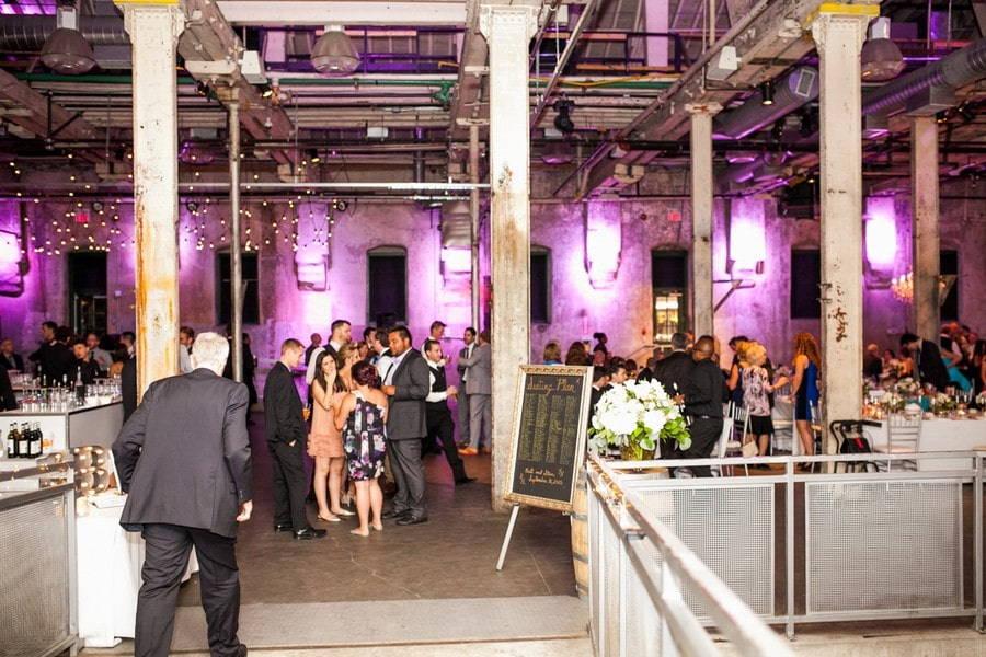 reception at Toronto's Fermenting Cellar