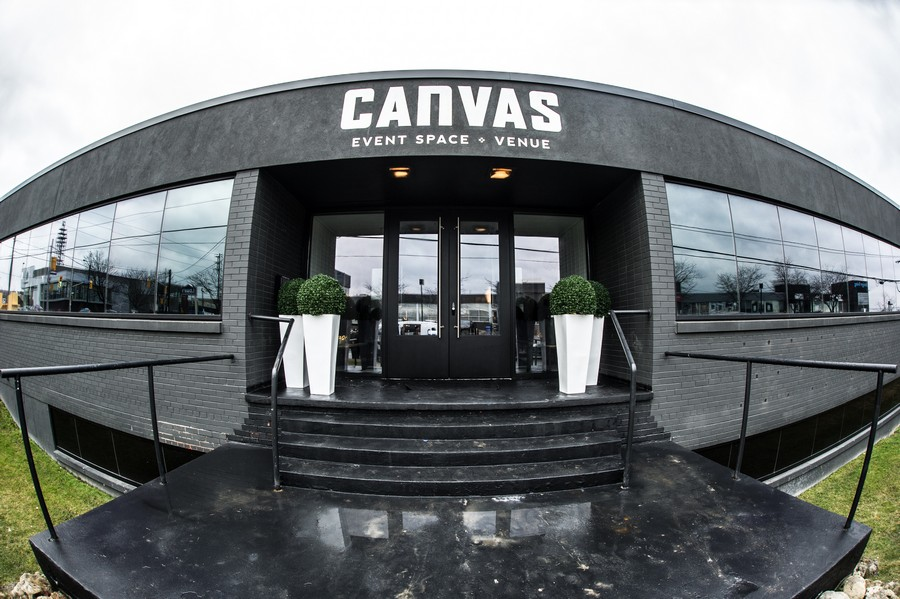 Food Dudes' Grand Opening Party for Canvas Event Venue