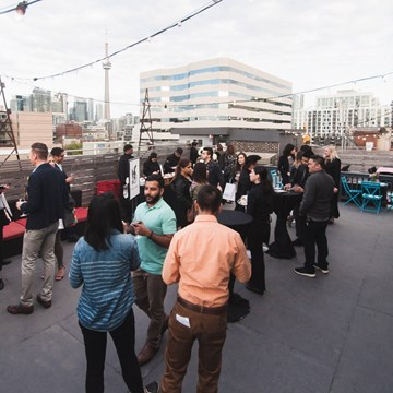 The Burroughes Backyard BBQ: Industry Night and Open House