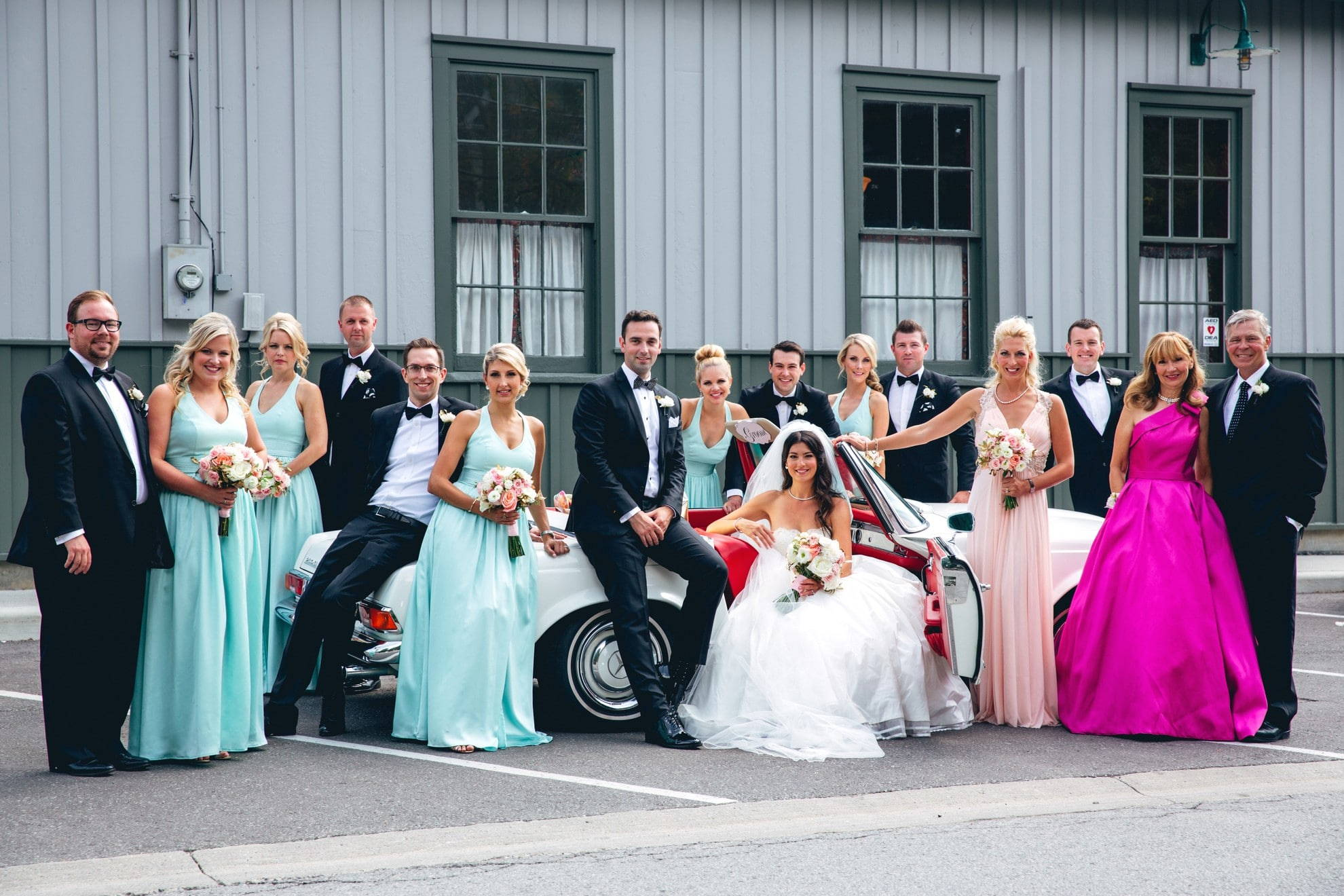 Victoria and Michael\'s Playful Wedding at The Granite Club