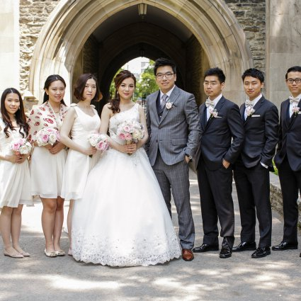 FOS Rental Group featured in Stacy and Oliver's Elegant Wedding at The Ritz Carlton