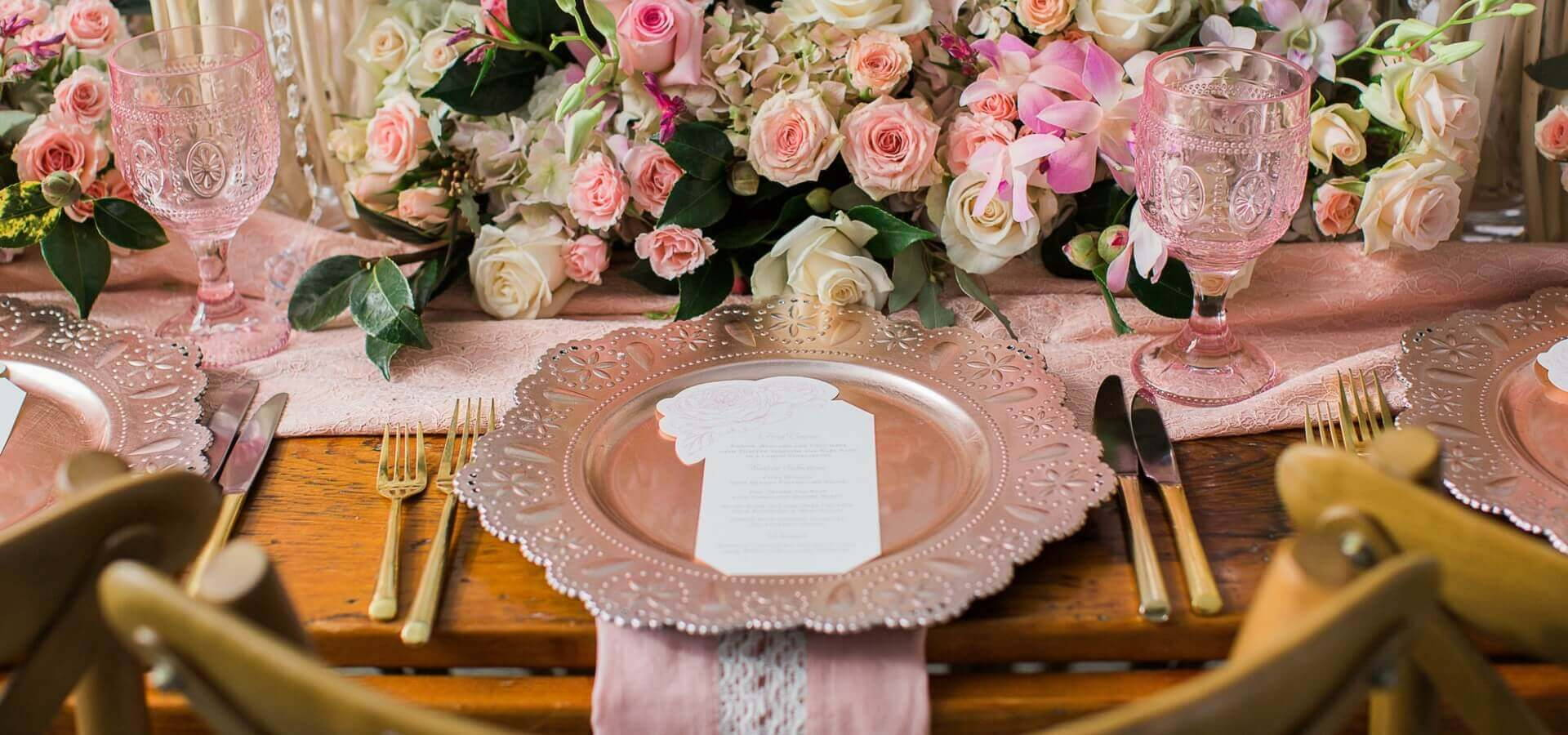 Hero image for A Romantic Blush and Cream Styled Shoot