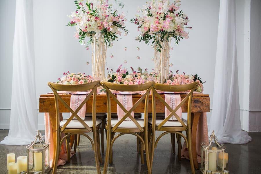 romantic blush cream styled shoot, 1