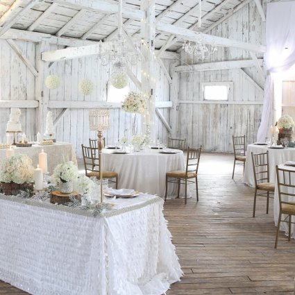 S2 Event Decor Inc. featured in Rustically Chic Barn Inspiration at Rainbow Valley Wedding Barn