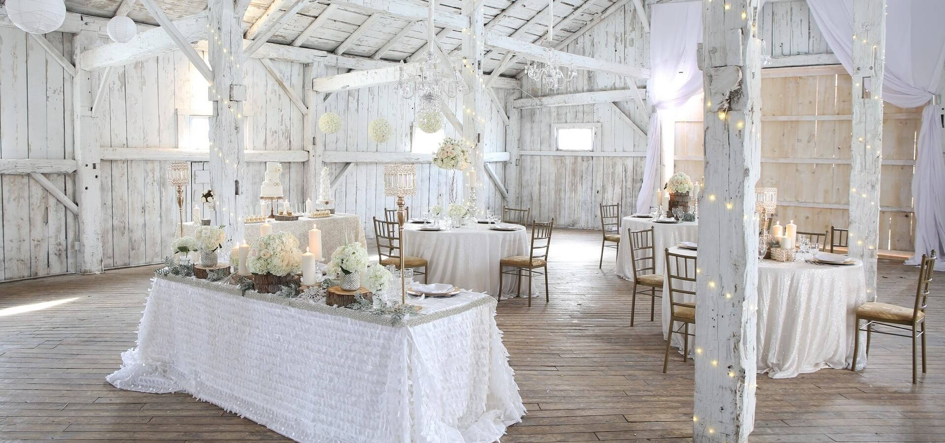 Hero image for Rustically Chic Barn Inspiration at Rainbow Valley Wedding Barn