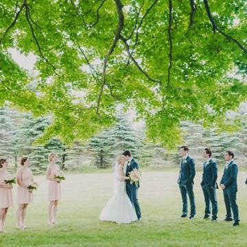 Ashli and Jacob's Outdoor Wedding at Belcroft Estates