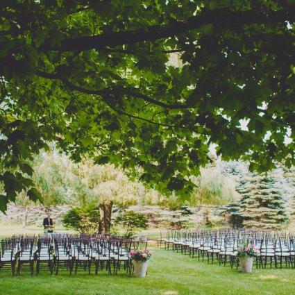 Belcroft Estate featured in Over 20 of Toronto's Prettiest Outdoor Wedding Venues