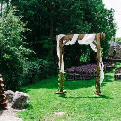 Alton Mill Arts Centre featured in Over 20 of Toronto's Prettiest Outdoor Wedding Venues