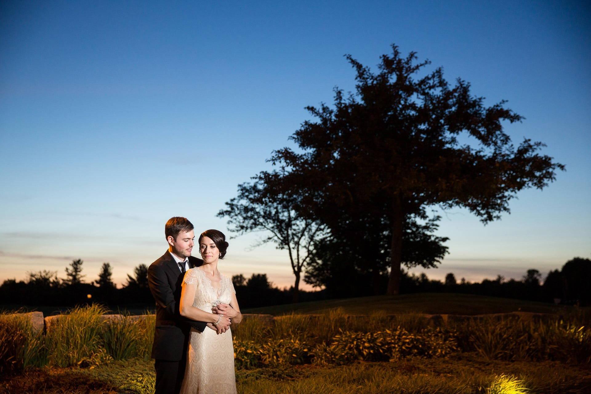 Hero image for Michelle and Darren's Deer Creek Golf Course Wedding