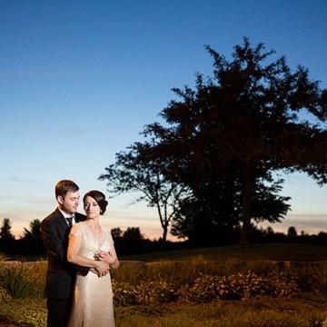 Michelle and Darren's Deer Creek Golf Course Wedding