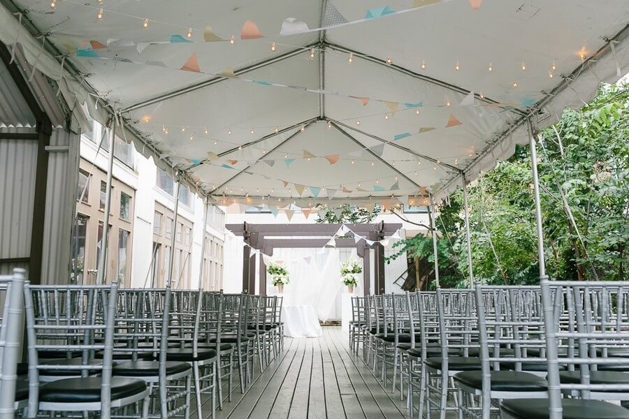 Berkeley Fieldhouse Outdoor Wedding Venue