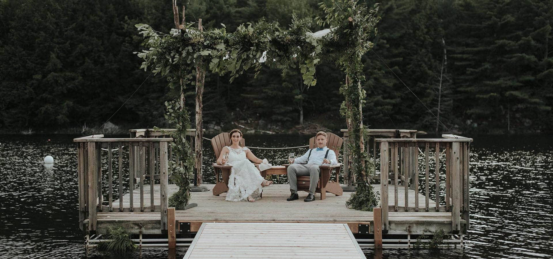 Hero image for Maddie and David's Romantic Cottage Wedding