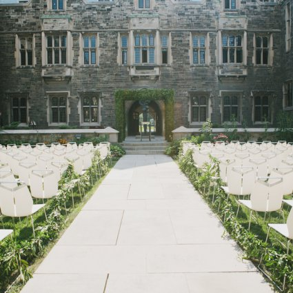 Hart House featured in Over 20 of Toronto's Prettiest Outdoor Wedding Venues